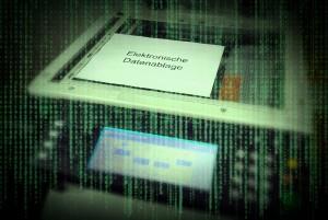 Elektronische Datenablage