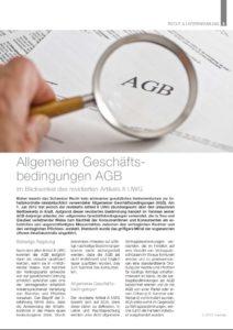Mandat 2.2012 - Allgemeine Geschäftsbedingungen